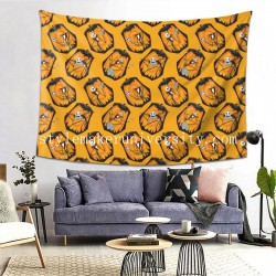 Tapestry The Pumpkin King In Orange hall Decor Wall Hanging Tapestry For Bedroom Tapestries 80*60 Inch(pp20210327)