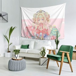 Tapestry Barbara Genshin Impact hall Decor Wall Hanging Tapestry For Bedroom Tapestries 80*60 Inch(pp20210327)