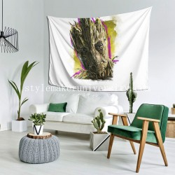 Tapestry Groot bedroom Decor Wall Hanging Tapestry For Bedroom Tapestries 80*60 Inch(pp20210327)