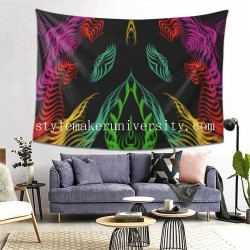 Tapestry El Diablo Living room Decor Wall Hanging Tapestry For Bedroom Tapestries 80*60 Inch(pp20210327)