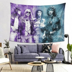 Tapestry Music Petty Tom And The Heartbreakers 47 Living room Decor Wall Hanging Tapestry For Bedroom Tapestries 80*60 Inch(pp20210327)