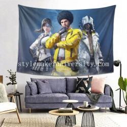 Tapestry Playerunknown's Battlegrounds Living room Decor Wall Hanging Tapestry For Bedroom Tapestries 80*60 Inch(pp20210327)