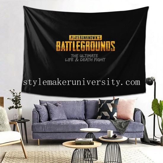 Tapestry PlayerUnknown's Battlegrounds game room Decor Wall Hanging Tapestry For Bedroom Tapestries 80*60 Inch(pp20210327)
