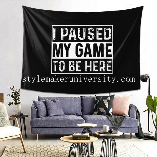 Tapestry Gaming game room Decor Wall Hanging Tapestry For Bedroom Tapestries 80*60 Inch(pp20210327)