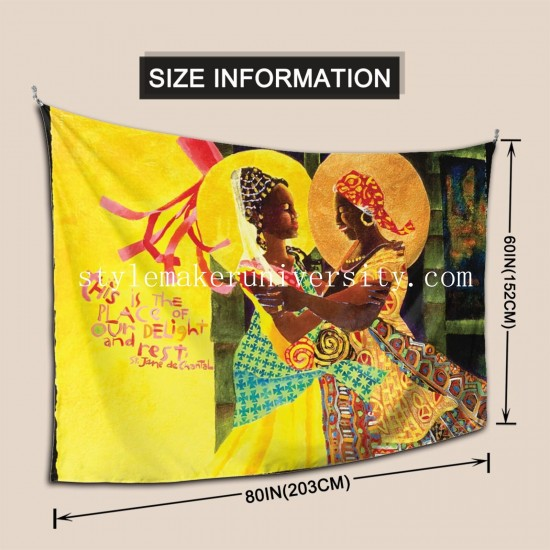 Tapestry The Windsock Visitation - MMWIV bedroom Decor Wall Hanging Tapestry For Bedroom Tapestries 80*60 Inch(pp20210327)