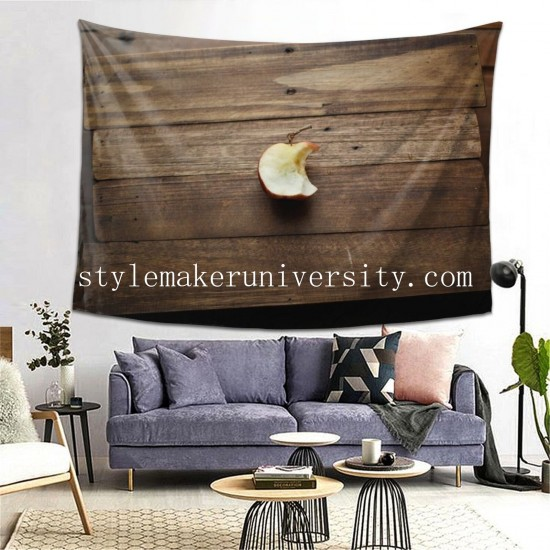 Tapestry Depth Of Field Fruit Pomme hall Decor Wall Hanging Tapestry For Bedroom Tapestries 80*60 Inch(pp20210327)