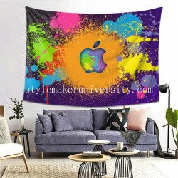 Tapestry Apple Living room Decor Wall Hanging Tapestry For Bedroom Tapestries 80*60 Inch(pp20210327)