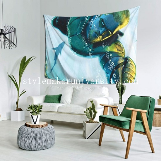 Tapestry Black Canary DC Comics Green Arrow bedroom Decor Wall Hanging Tapestry For Bedroom Tapestries 80*60 Inch(pp20210327)