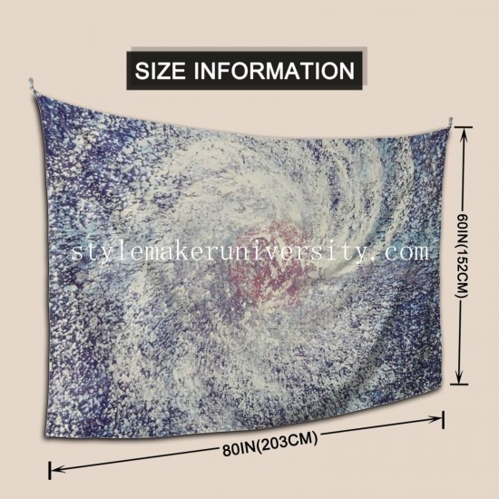 Tapestry Space In Motion Living room Decor Wall Hanging Tapestry For Bedroom Tapestries 80*60 Inch(pp20210327)