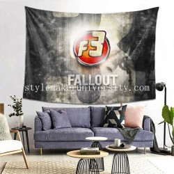 Tapestry Fallout 3 bedroom Decor Wall Hanging Tapestry For Bedroom Tapestries 80*60 Inch(pp20210327)
