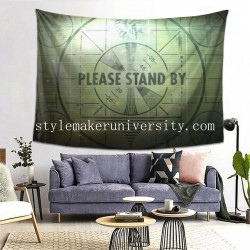 Tapestry Fallout 3 Vintage game room Decor Wall Hanging Tapestry For Bedroom Tapestries 80*60 Inch(pp20210327)