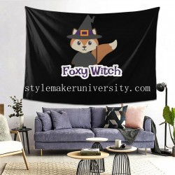 Tapestry Foxy Withc bedroom Decor Wall Hanging Tapestry For Bedroom Tapestries 80*60 Inch(pp20210327)
