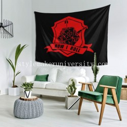 Tapestry Dungeons And Dragons game room Decor Wall Hanging Tapestry For Bedroom Tapestries 80*60 Inch(pp20210327)