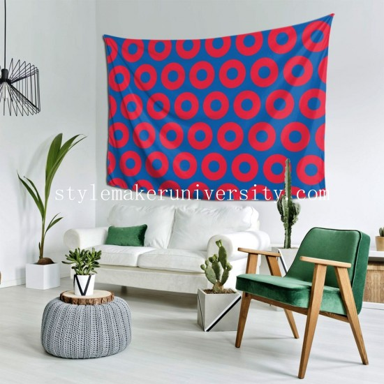 Tapestry Phish Circles bedroom Decor Wall Hanging Tapestry For Bedroom Tapestries 80*60 Inch(pp20210327)