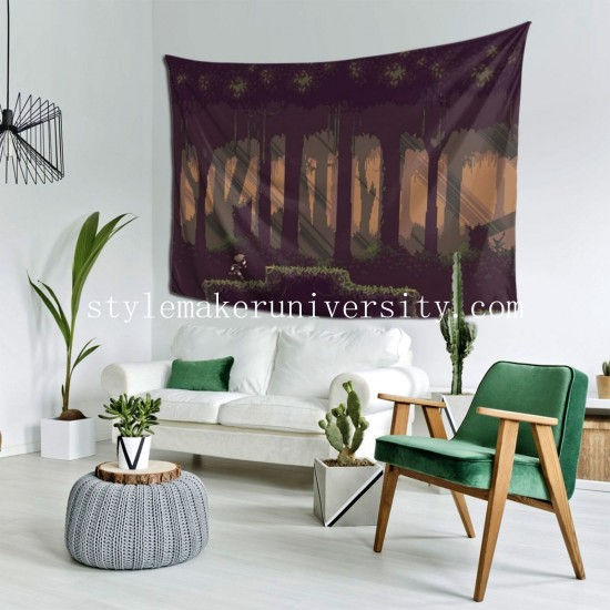 Tapestry Pixel Art bedroom Decor Wall Hanging Tapestry For Bedroom Tapestries 80*60 Inch(pp20210327)
