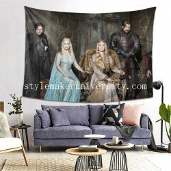 Tapestry Game Of Thrones bedroom Decor Wall Hanging Tapestry For Bedroom Tapestries 80*60 Inch(pp20210327)