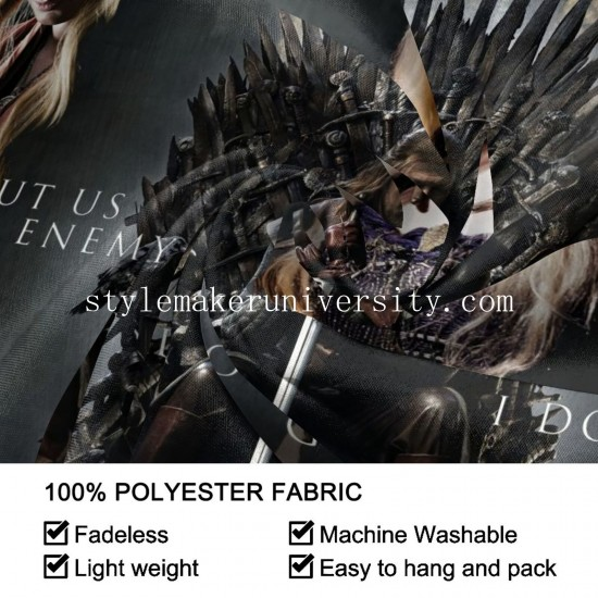 Tapestry Game Of Thrones game room Decor Wall Hanging Tapestry For Bedroom Tapestries 80*60 Inch(pp20210327)