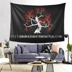 Tapestry Game Of Thrones Old Gods Hear You Quotes bedroom Decor Wall Hanging Tapestry For Bedroom Tapestries 80*60 Inch(pp20210327)