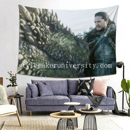 Tapestry Did Jon hall Decor Wall Hanging Tapestry For Bedroom Tapestries 80*60 Inch(pp20210327)