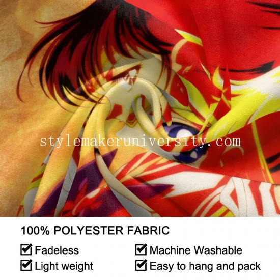 Tapestry Sailor Moon game room Decor Wall Hanging Tapestry For Bedroom Tapestries 80*60 Inch(pp20210327)