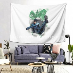 Tapestry Nightwing hall Decor Wall Hanging Tapestry For Bedroom Tapestries 80*60 Inch(pp20210327)
