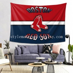 Tapestry Boston Red Sox Living room Decor Wall Hanging Tapestry For Bedroom Tapestries 80*60 Inch(pp20210327)