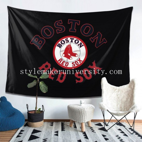 Tapestry Boston Red Sox bedroom Decor Wall Hanging Tapestry For Bedroom Tapestries 80*60 Inch(pp20210327)