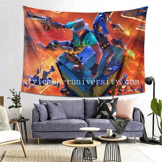 Tapestry Fortnite hall Decor Wall Hanging Tapestry For Bedroom Tapestries 80*60 Inch(pp20210327)