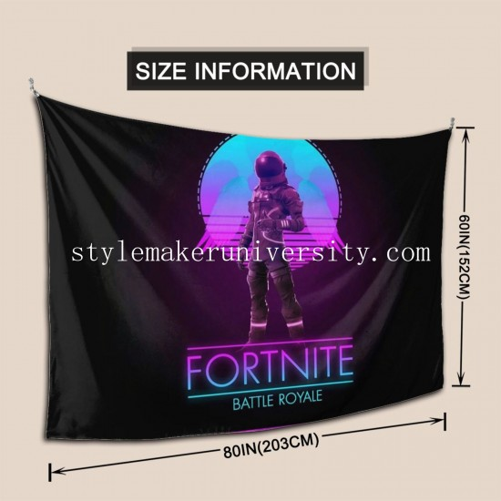 Tapestry Fortnite Living room Decor Wall Hanging Tapestry For Bedroom Tapestries 80*60 Inch(pp20210327)